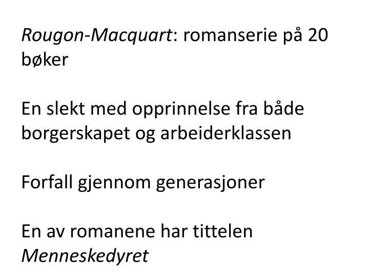 Rougon-Macquart