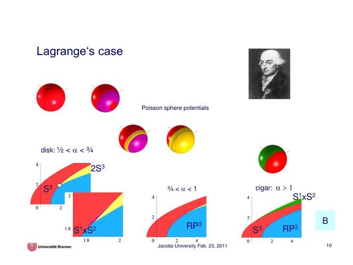 Lagrange's case