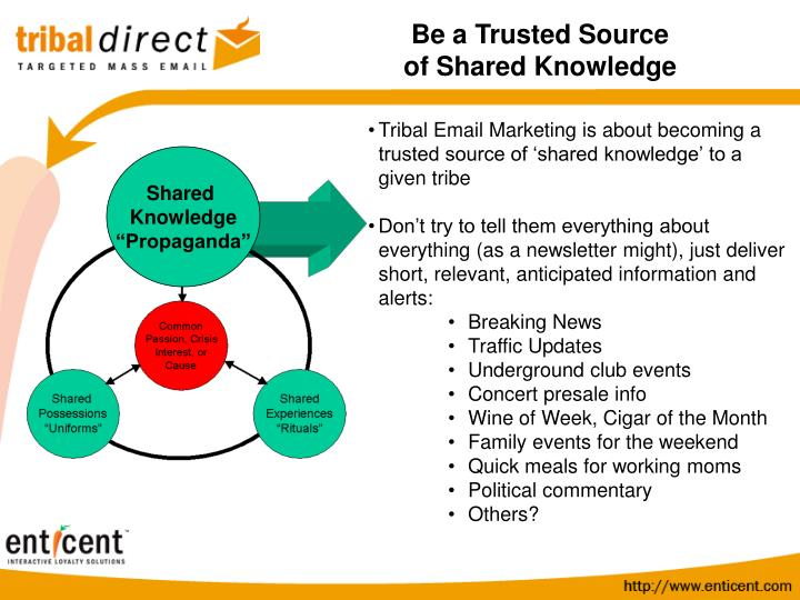 Be a Trusted Source