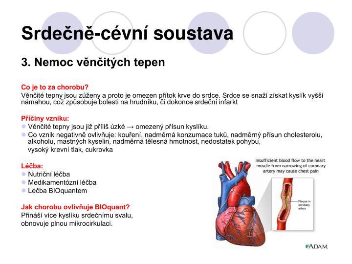 Srdečně-cévní soustava