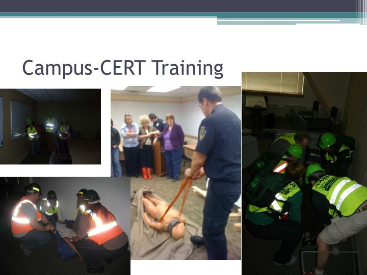 Campus-CERT Training
