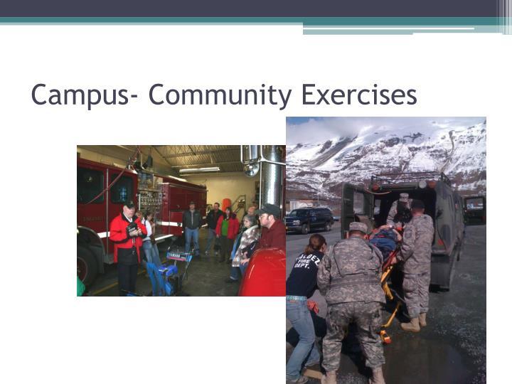 Campus- Community Exercises