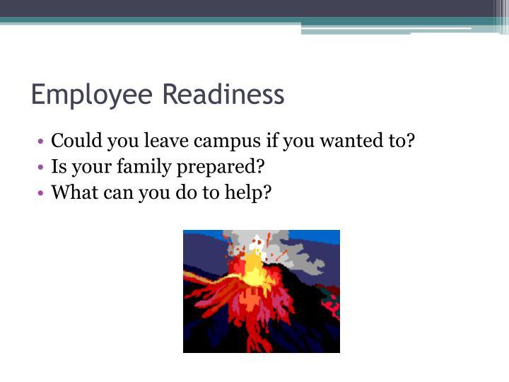 Employee Readiness