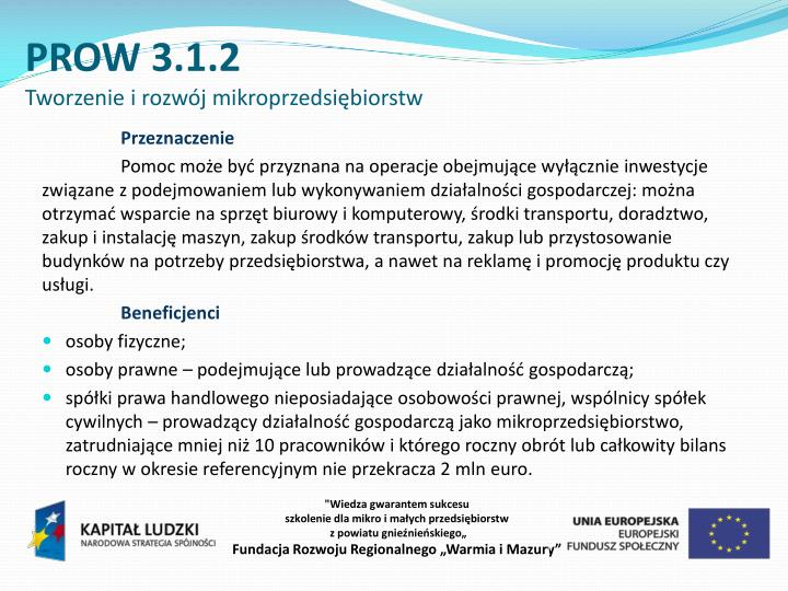 PROW 3.1.2