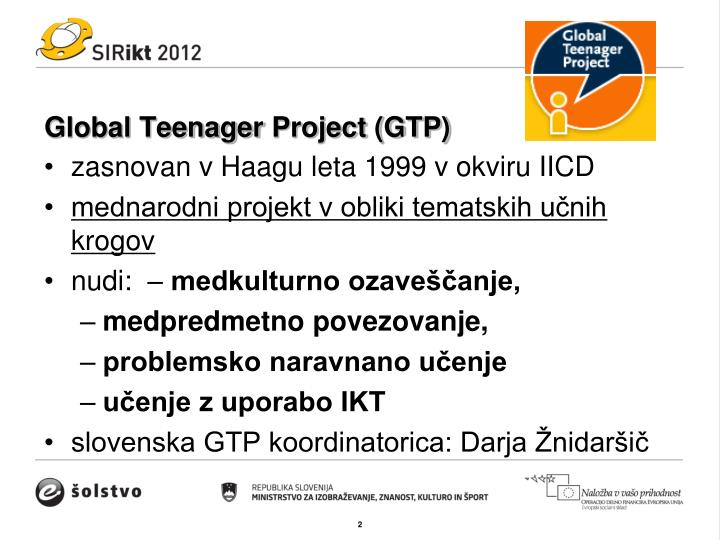 Global teenager project gtp