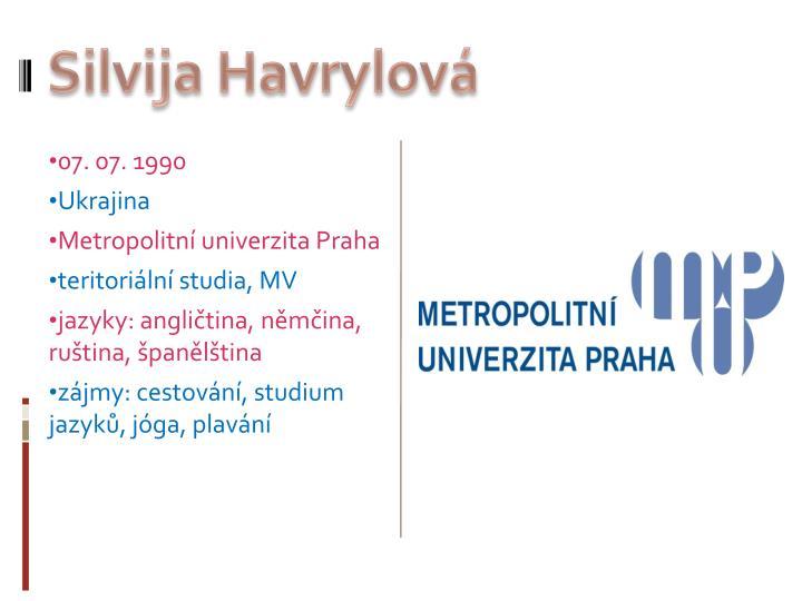 Silvija Havrylová