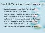 para 5 12 the author s counter arguments