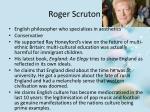 roger scruton