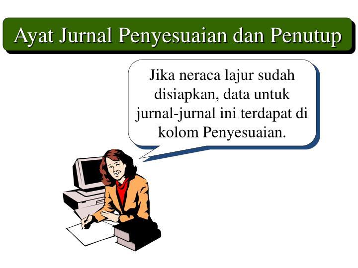 Ayat Jurnal Penyesuaian dan Penutup
