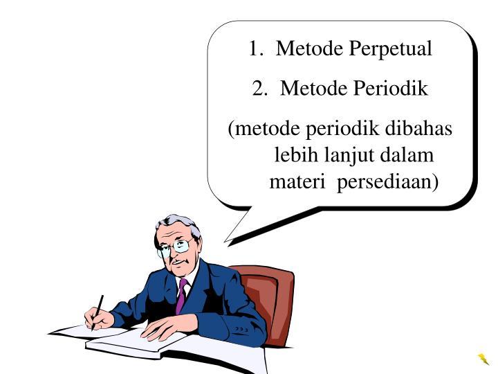 Metode Perpetual
