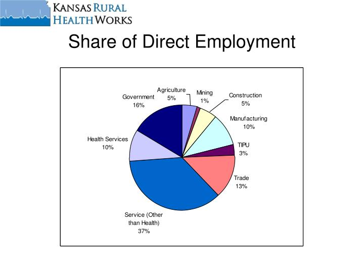 Share of Direct Employment