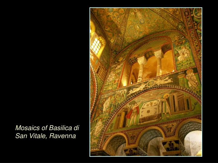 Mosaics of Basilica di San Vitale, Ravenna