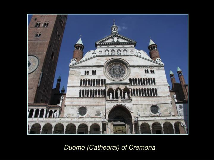 Duomo (Cathedral) of Cremona