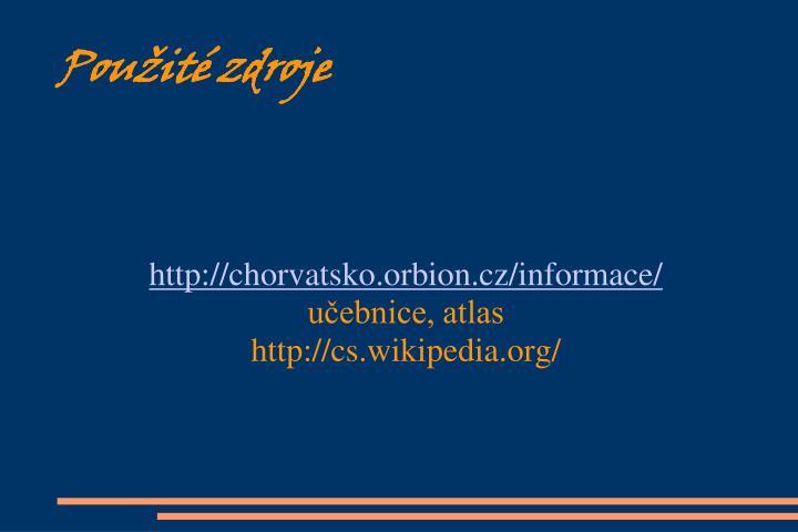 http://chorvatsko.orbion.cz/informace/