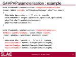 g4vpvparameterisation example1
