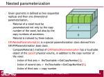 nested parameterization2