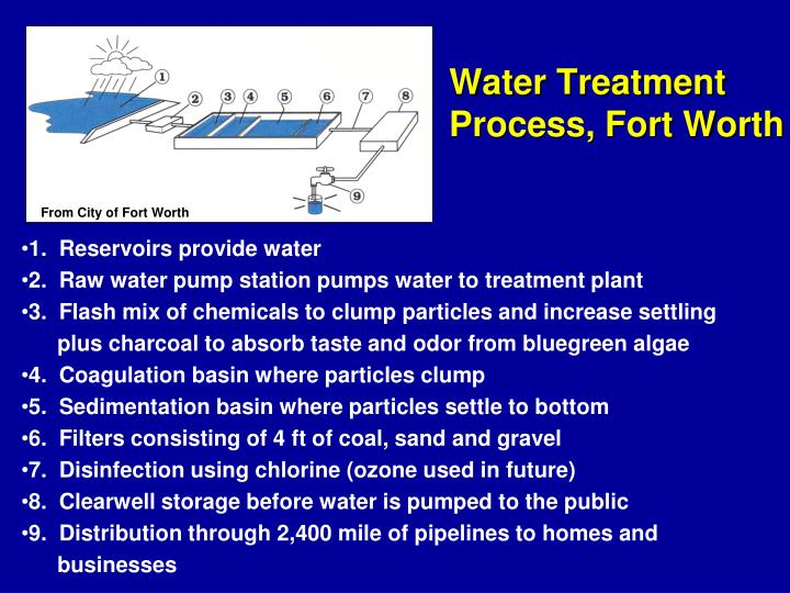 Water Treatment Process, Fort Worth