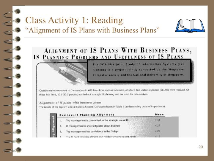 Class Activity 1: Reading