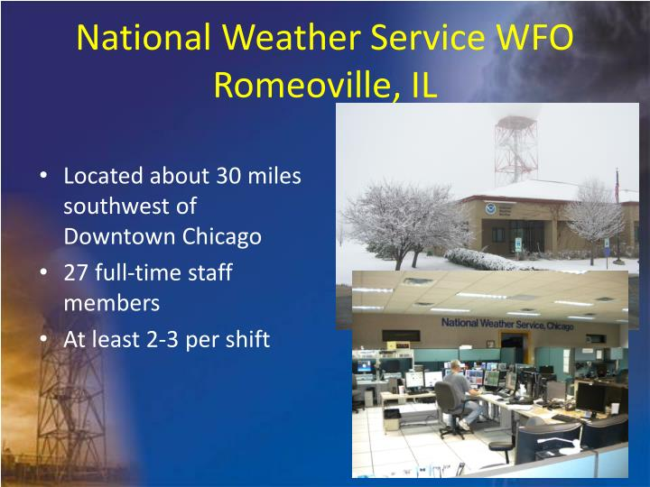 National Weather Service WFO