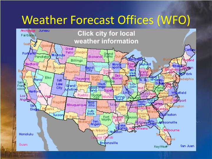 Weather Forecast Offices (WFO)