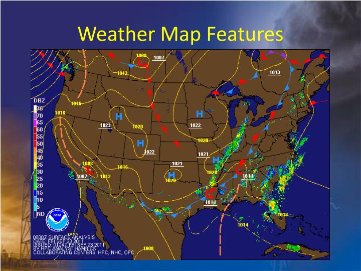 Weather Map Features
