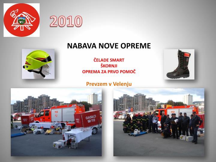 NABAVA NOVE OPREME