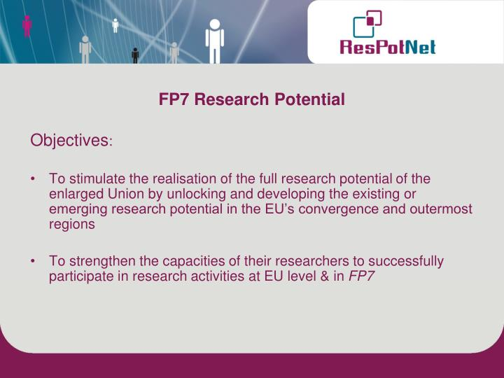 FP7 Research Potential