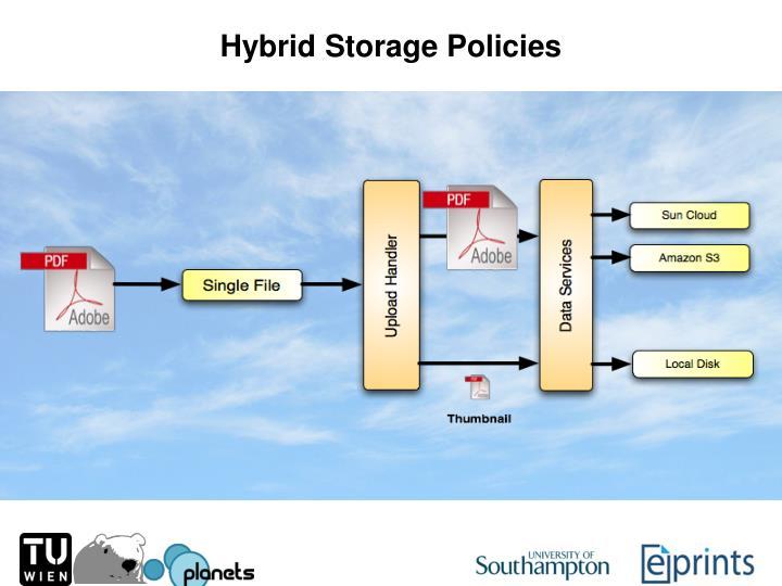 Hybrid Storage Policies