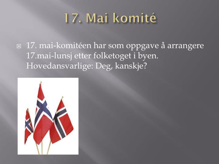 17. Mai komité