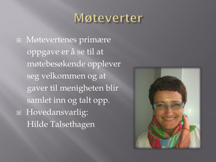 Møteverter