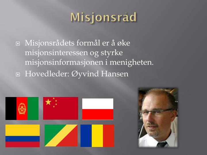 Misjonsråd