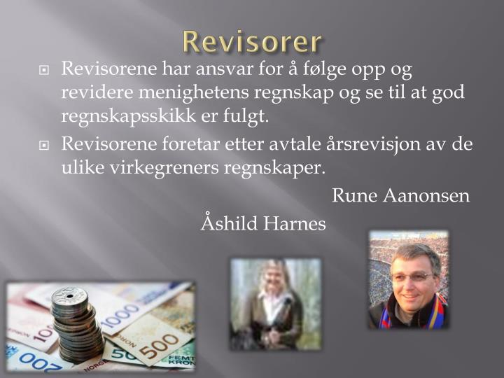 Revisorer