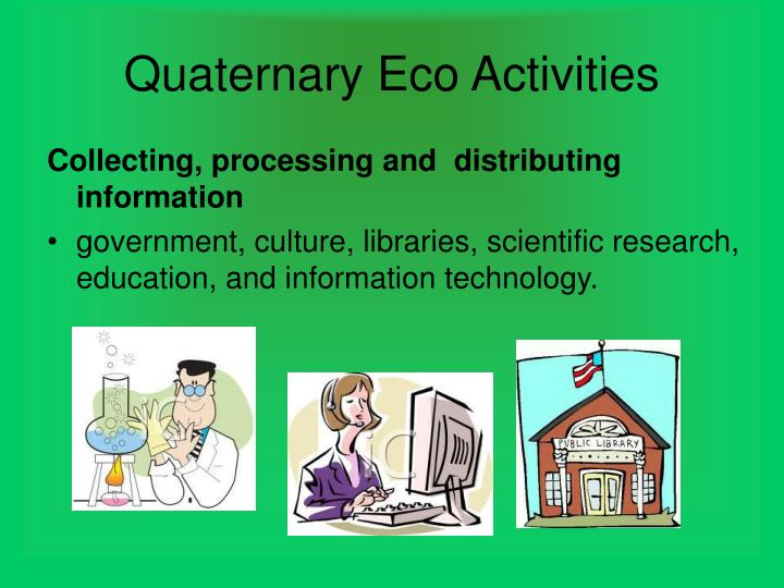 Quaternary Eco Activities