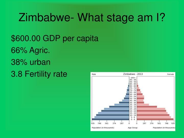 Zimbabwe- What stage am I?