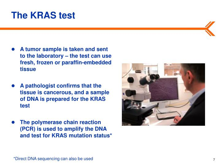 The KRAS test