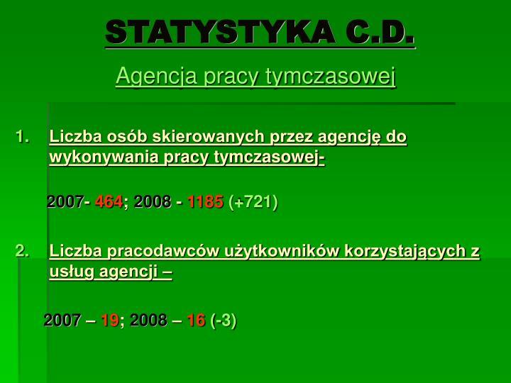 STATYSTYKA C.D.