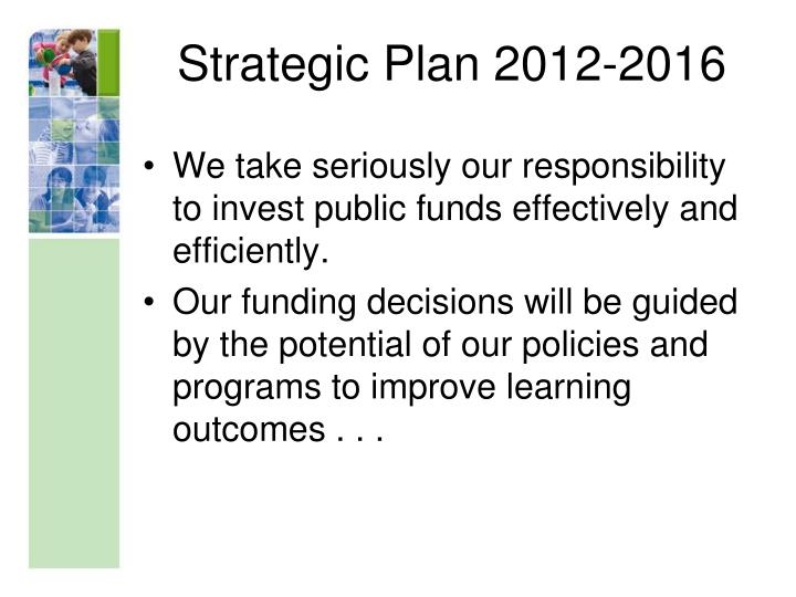 Strategic Plan 2012-2016