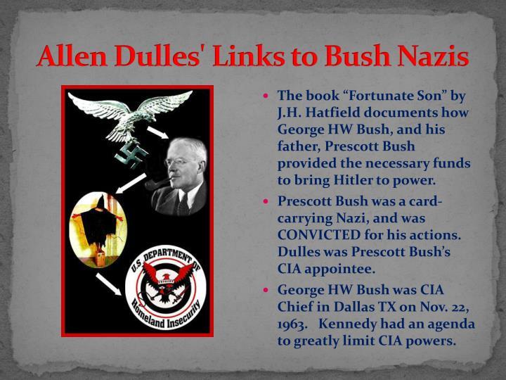 Allen Dulles' Links to Bush Nazis