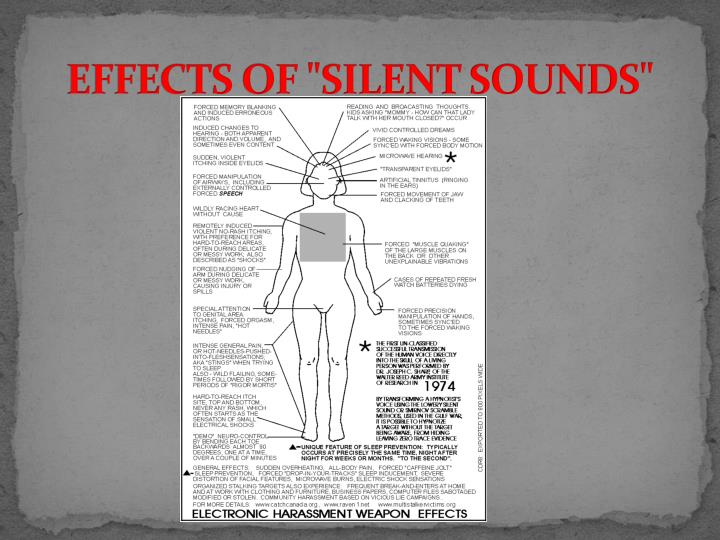 "EFFECTS OF ""SILENT SOUNDS"""