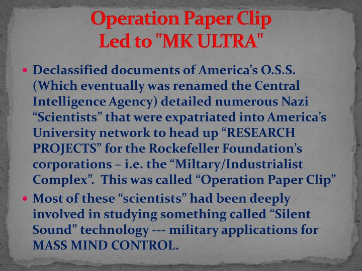 Operation Paper Clip