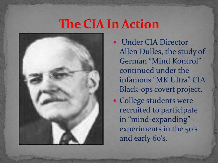 The CIA In Action