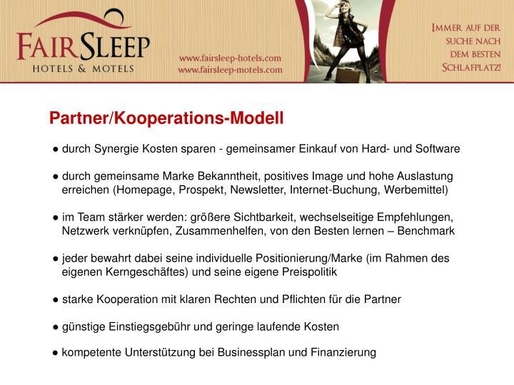 Partner/Kooperations-Modell