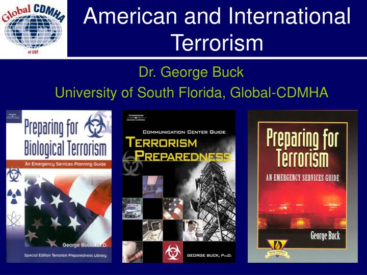 American and international terrorism