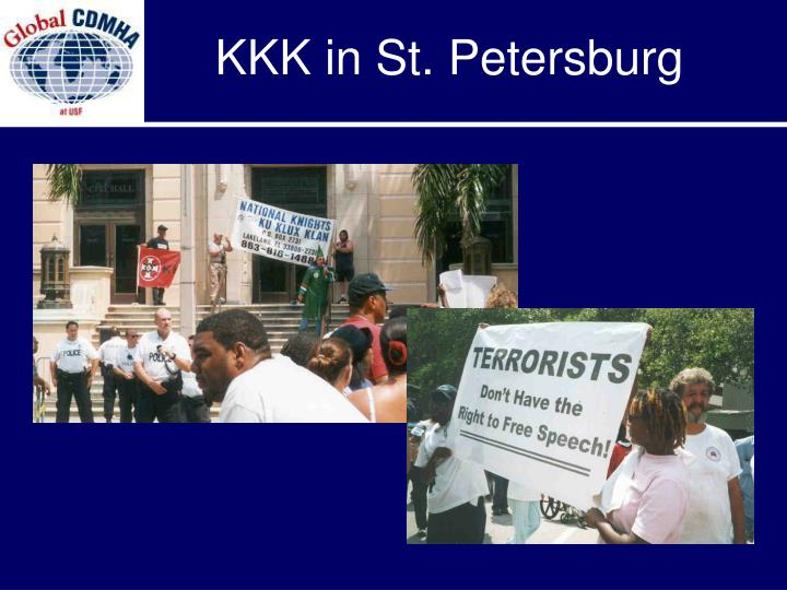 KKK in St. Petersburg