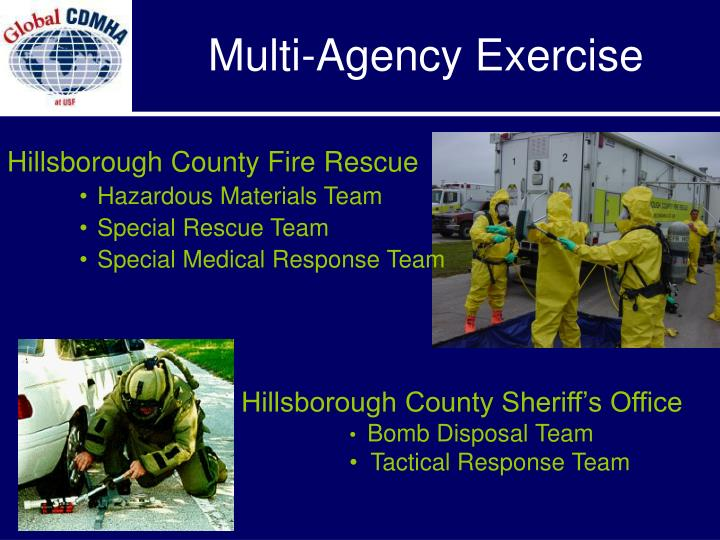 Multi-Agency Exercise
