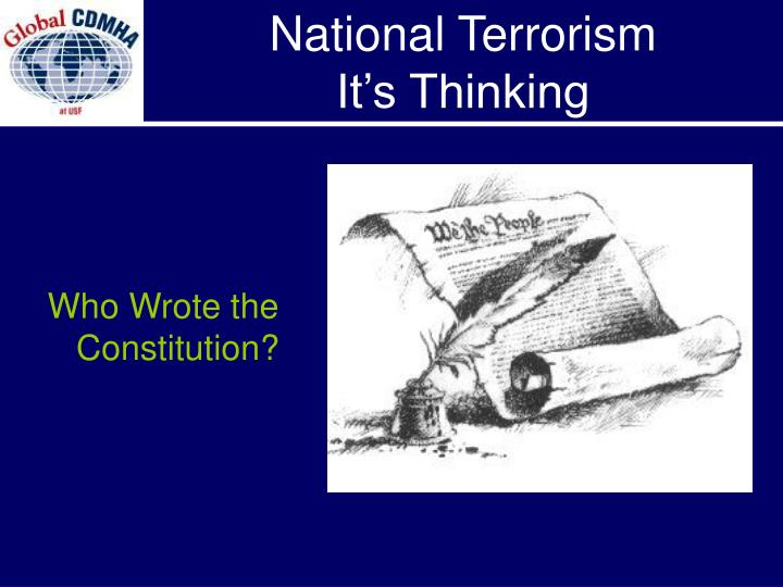 Who Wrote the Constitution?