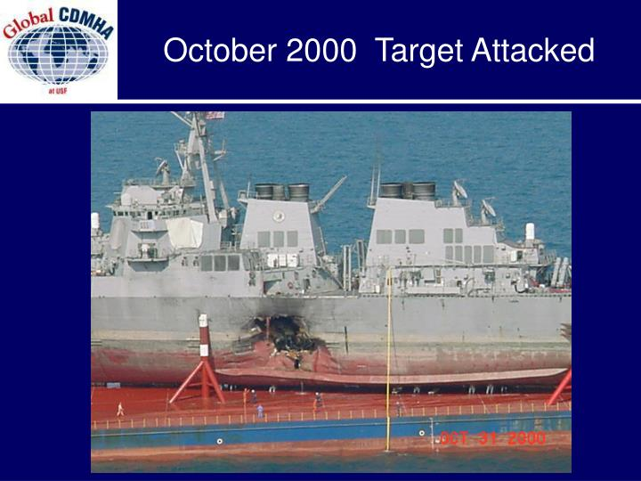 October 2000  Target Attacked
