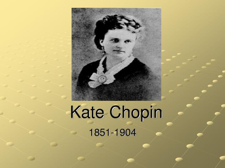 Critical essay on kate chopin