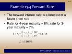 example 15 4 forward rates