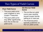 two types of yield curves